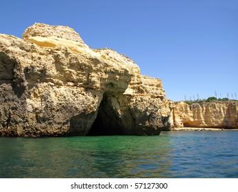 Coast in Portugal, Algarve