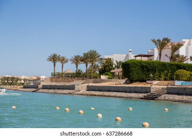 Coast of the Red Sea and Houses