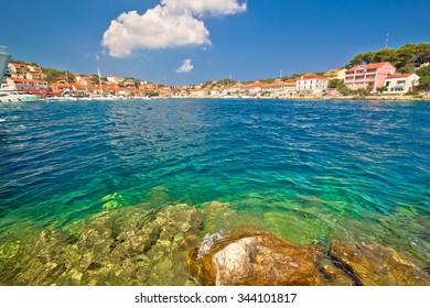 Coast of Sali on Dugi Otok island, Croatia