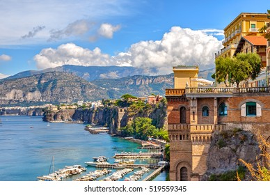 Coast of Sorrento, Italy.