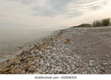 The coast of the urbanization cap and corp in alcocebre