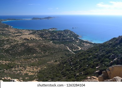 Coast of Villasimius, Cala Piscadeddus, Capo Carbonara, Porto Sa Ruxi