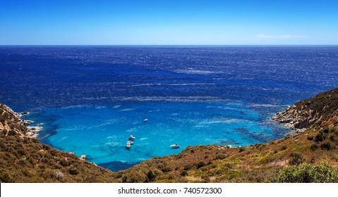 Coast  of Villasimius, Sardinia, Italy
