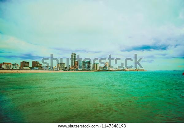 The coast of vlissingen