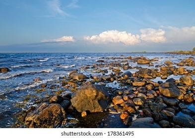 Coast of the White sea