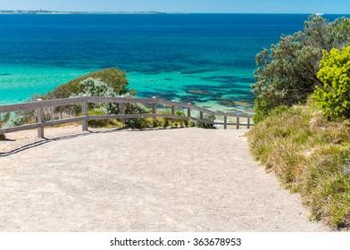 Coastal area around Fort Nepean, Mornington Peninsula, Victoria - Australia.