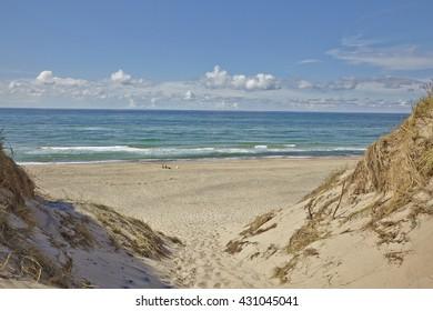 Coastal Beach Path Skagen Jutland Denmark