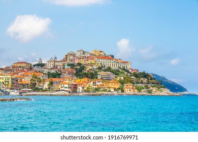 A coastal city of Imperia, Italian Rivera in the region of Liguria, Italy.