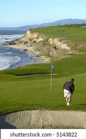 Coastal golf course, Northern California