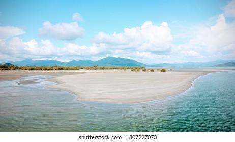 Coastal Landscape Aerial Scenic South Thailand