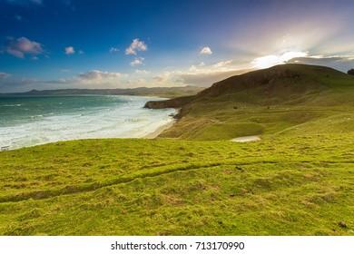 Coastal Landscape of South Island, New Zealand