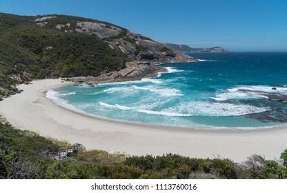 Coastal landscape within the amazing Torndirrup National Park close to Albany, Western Australia