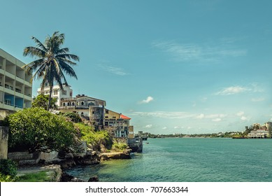 Coastal part pf Mombasa town, Kenya