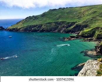 The coastal path to Salcombe, Devon
