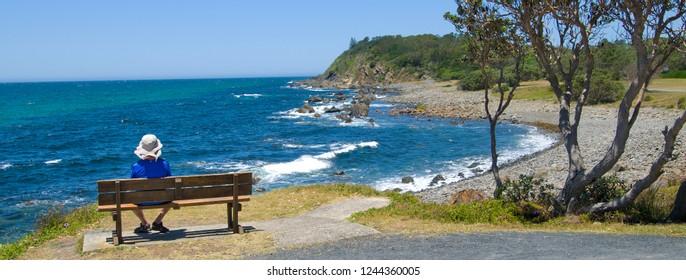 A coastal reteat in the Australian countryside