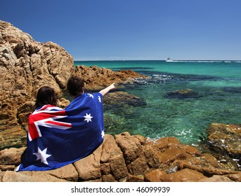 Coastal scene on Victoria's Mornington Peninsula