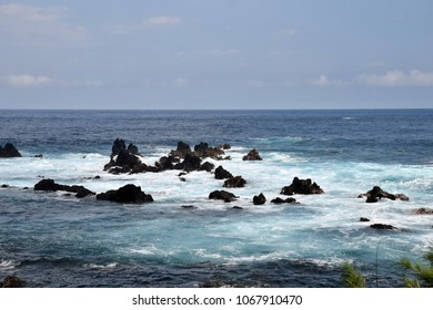 Coastal scenery from the Big Island of Hawaii