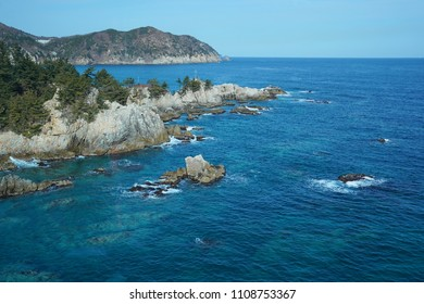 The coastal scenery in Gangwon-do Province, South Korea