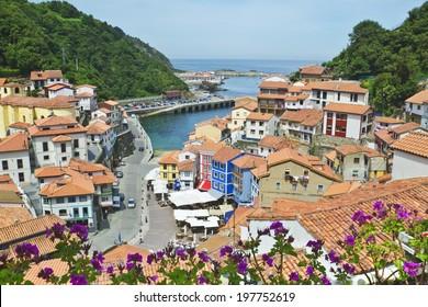 coastal town of cudillero - Asturias (Spain)