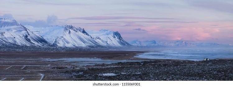 Coastal View of Iceland