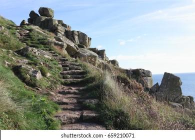 A Coastal Walk Uphill