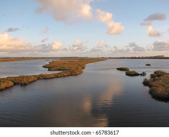 Coastal wetlands, Bolsa Chica, Huntington Beach, CA