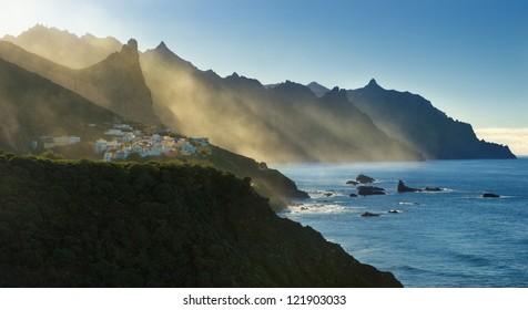 coastline at Almaciga