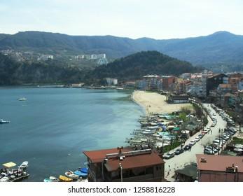 The coastline of Amasra, Turkey
