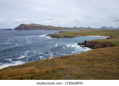 The coastline at the Atlantic