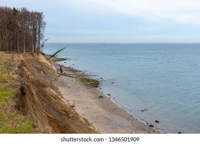Coastline at the Baltic Sea near Travemünde, Germany