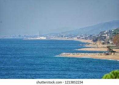 Coastline to Barcelona