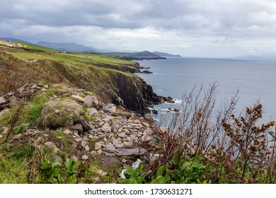 A coastline in Ireland on the Wild Atlantic Way