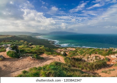 Coastline of Kenting national park in Taiwan.