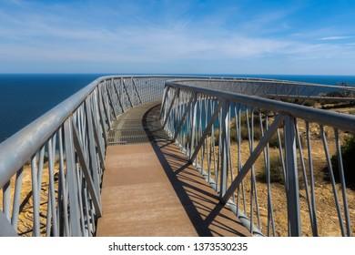 Coastline landscape in Espania