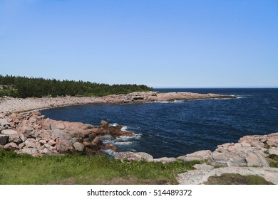 Coastline near Lakies Head, Cape Breton Highlands National Park, Nova Scotia, Canada