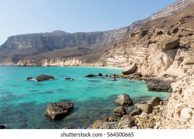Coastline near Salalah, Oman