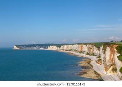 Coastline near Yport, Normandy, France