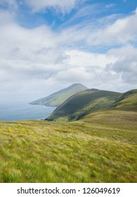 Coastline on Achill Island, Ireland, north of Dooagh and Keel.