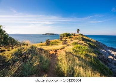 coastline in Phuket of Thailand