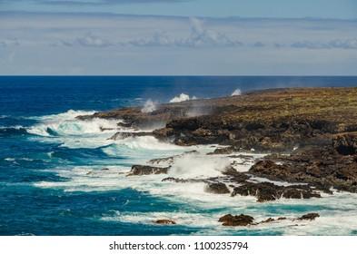 Coastline at Punta de Teno, the north west coast of Tenerife