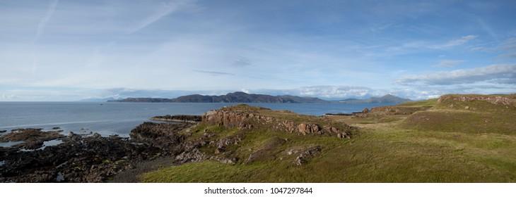 Coastline, Scotland, landscape