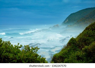 Coastline in tsitsikama, south africa
