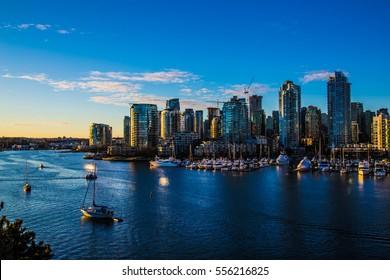 Coastline of Vancouver - BC, Canada