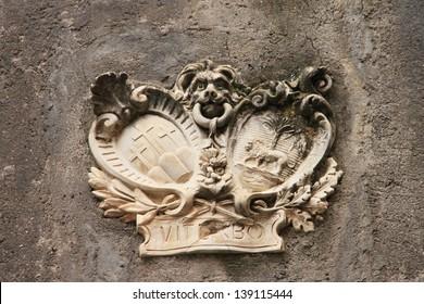 Coat of arms Viterbo (Lazio, Italy)