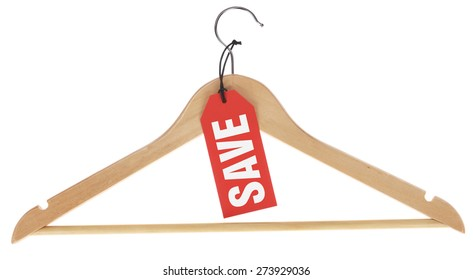 Coat hanger with Save
