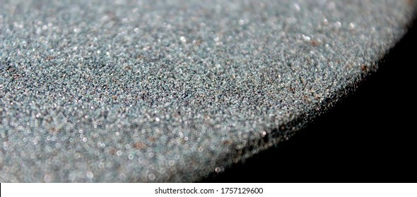 Coated abrasive rough stone. A wide banner with the texture surface. Metal industry.