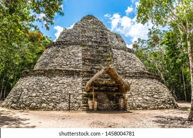 coba ancient ruins in mexico yucatan
