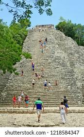 Coba, Quintana Roo / Mexico - August 2018