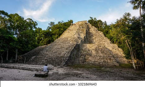 Coba ruin in the Yucatan, Mexico.