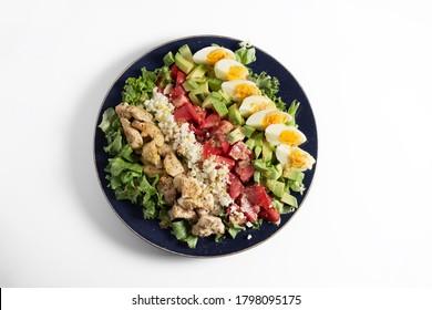 Cobb salad, main-dish American garden salad, American cuisine